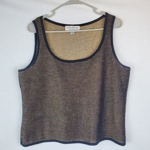 St. John by Marie Gray Collection cropped tank top